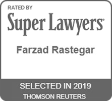 Super Lawyers - Farzad Rastegar 2019