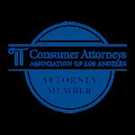 Consumer Attorneys Association of Los Angeles Attorney Member Badge