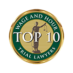 Wage and Hour Top 10 Trial Lawyers Badge