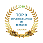 Three Best Rated Top 3 Employment Lawyers in Torrance 2019 Badge