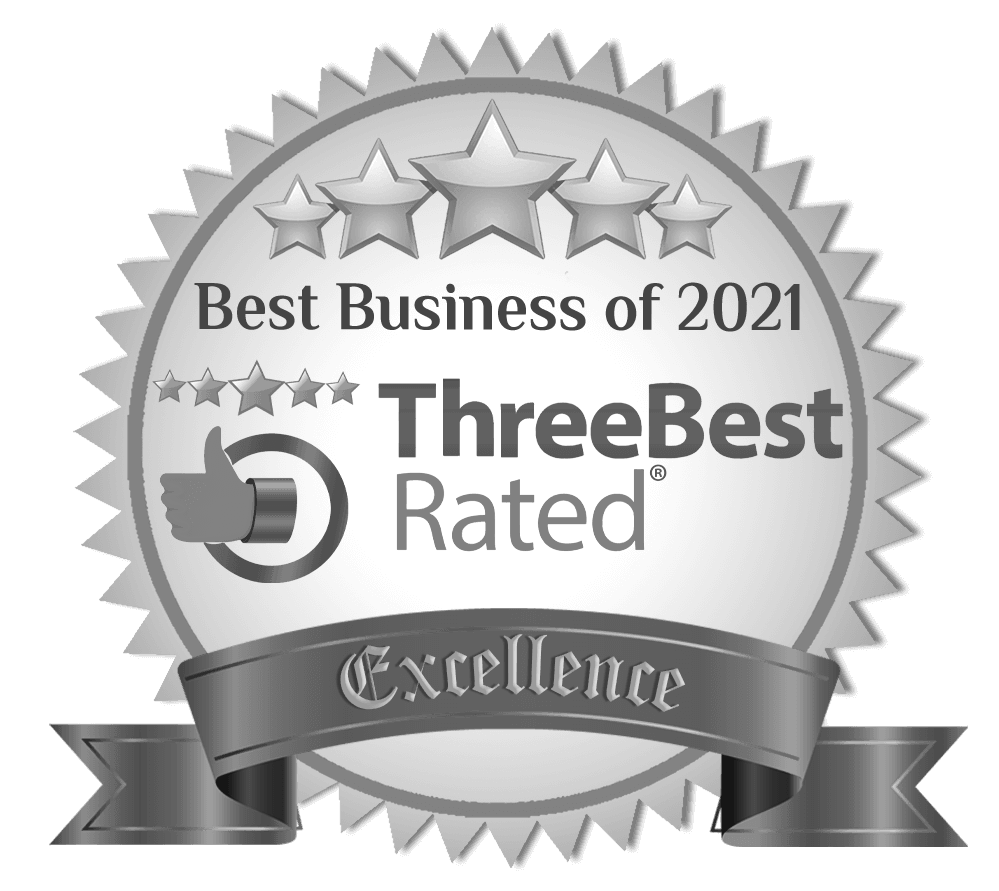 Best Business of 2021 - Three Best Rated